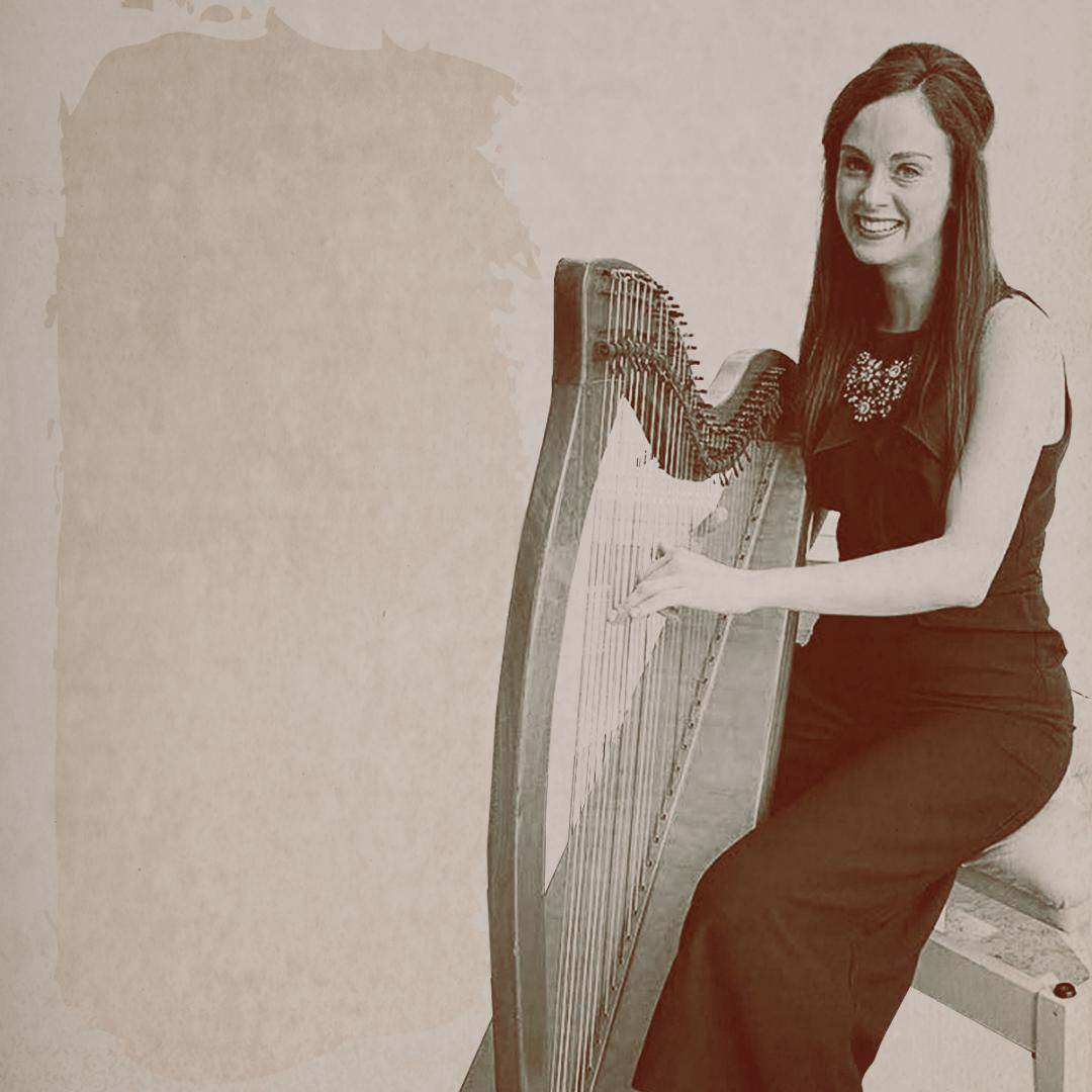 Sinéad, Gráinne, Darragh Healy Achill Harp Fest